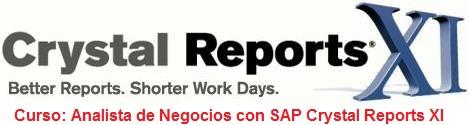 SAP Crystal Reports curso